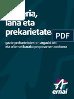 Gazteria Lana Eta Prekarietatea