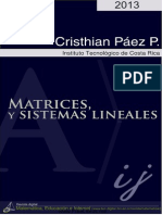 Matrices y sistemas lineales - Christian Páez Páez.pdf