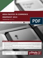 Asia-Pacific M-Commerce Snapshot 2014