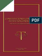 Constituciones Generales - Estatutos Generales OFM