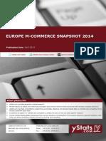 Europe M-Commerce Snapshot 2014