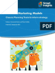 Marketing frameworks