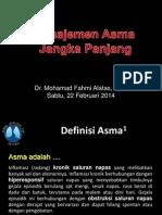 Asthma Managemen - Iai - Dr Fahmi Spp