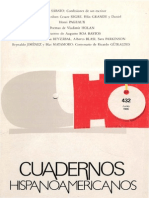 MATAMORO Blas - Cuadernos Hispanoamericanos 432, Junio 1986