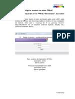 Configuração PPPoE TD5130 Oi GVT