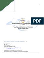 Informe ONAPRE Ocamar 2011
