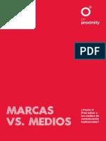 Marcas vs. Medios