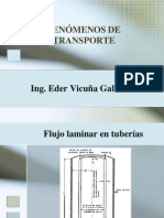 Fenómenos de Transporte - III Clase - USMP