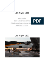 UPS Flight 1307 Case Study