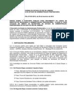 Seap Rj 2012 Inspetor de Seguranca e Administracao Penitenciaria Edital