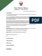 Reglamento de Gestión de Recursos Humanos de Los JEEs