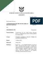 Csars v Tradehold Ltd (13211) [2012] Zasca 61 (8 May 2012)