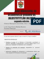 Programa Municipal de Desarrollo Urbano de Jalostotitlán Jalisco