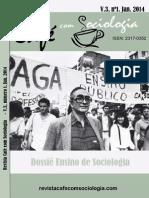 Café Com Sociologia 2014