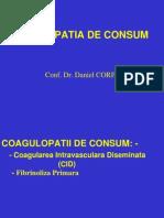 Coagulopatii de Consum- Studenti Forma Sc