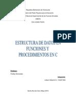 Estructura Programa en c