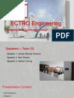 ECTRO Engineering Presentation