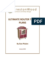 Router Cabinet Plan