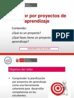 Proyectos de Aprendizaje en La EBR Ccesa
