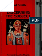 Paul Smith - Discerning the Subject