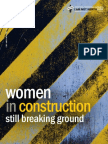 National Women's Law Center's Women in Construction Report (Final Draft)