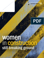 National Women's Law Center's Women in Construction Report (Final Draft)