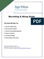 Recruiting Hiring Guide