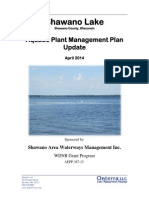 Shawano Lake Aquatic Plant Management Plan