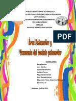 Área Psicomotor y Taxonomia