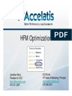 Accelatis Optimizing HFM Presentation