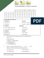 Guía #1 Lógica y Conjuntos  (Con respuesta)