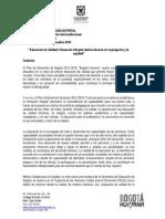 Foro Educativo 2014. Lineamientos Final DPRI