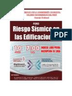 Registro en Icg Riesgo Sismico en Edificaciones
