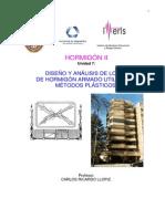Diseño y Análisis de Losas de Hormigón Armado Utilizando Métodos Plásticos