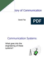 History of Communication