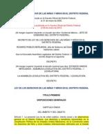 Ley Derechos Niños Niñas 09-01-2012