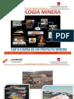 Etapas de La Mineria