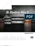 Guitar Rig 5 Application Reference