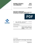 NTC512-2 Rotulado y Etiquetado