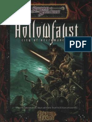 Hollowfaust City Of Necromancers Necromancy Volcano