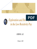 Low Resistivity Pay