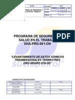 Programa de Seguridad y Salud en El Trabajo SHA-PRG-001-On