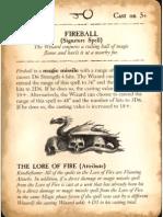 Warhammer Battle Magic - [ 2010 ] - The Lore of Fire