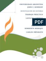 Investigacion de Sistemas - Agile