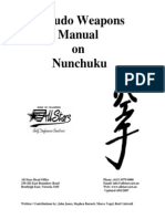 Nunchuku Weapons Manual