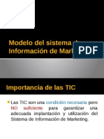 Modelo Del Sistema de Información de Marketing