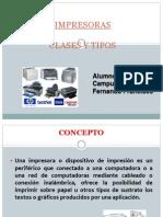 Capuzano_impresoras y Sus Tipos