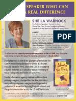 STC - Shelia One Page Flyer