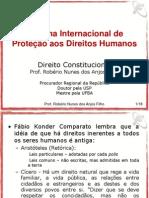 Sistema Internacional de Direitos Humanos - Federal Concursos 2011