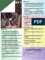 Examen Repaso de Escuela Sabatica 11 II 2014
